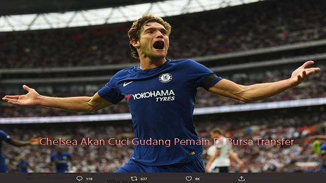 Chelsea Akan Cuci Gudang Pemain Di Bursa Transfer